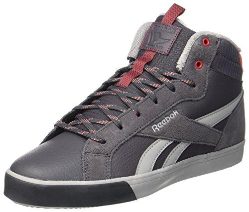 Reebok Royal Complete 2 Mw, Sneaker a Collo Alto Uomo Grigio (Ash Grey/grey/primal Red)