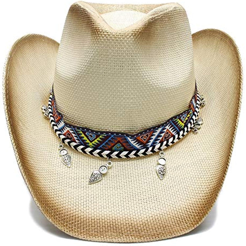 Shuo lan hu wai New Cow Cappello da Cowboy Western Cow New con Boemia  Handmade Lady Lady pap agrave  Sombrero Hombre Cowgirl... ee7fd0 41628e36df1