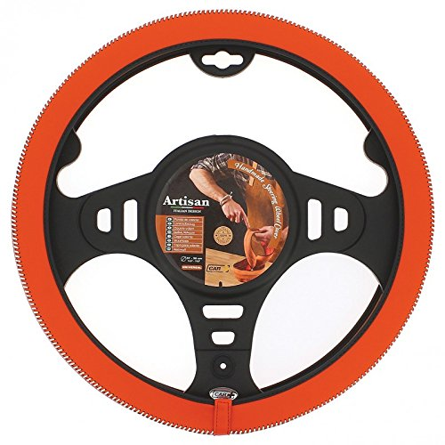 Preisvergleich Produktbild Lenkradhülle Artisan orange Hyundai Accent–Durchmesser Lenkrad 37/39cm -