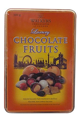 Walkers Luxus Schokolade Früchte 300g Dose