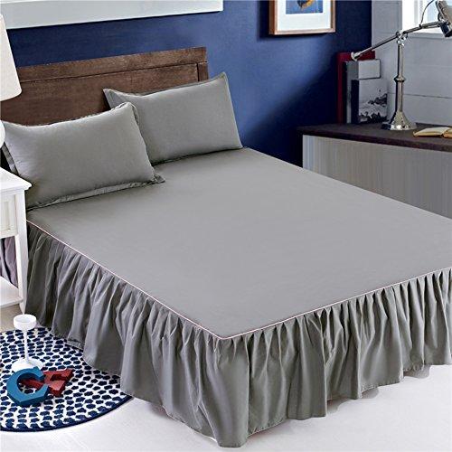 jhywawlb Bettrock tagesdecke Bett Sets einzigen bettdecke Sheet-O 180x200cm(71x79inch) -