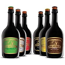 Scatola 6x0,75L Birra Artigianale San Michele - Selezione assortimento 6 diversi stili