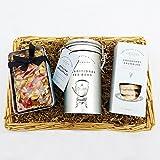 Feinkost Tee-Pause Geschenkkorb - Ein Tolles Geschenk Für Den Teeliebhaber, zum Geburtstag, Als Danke Schön, Guten Besserung