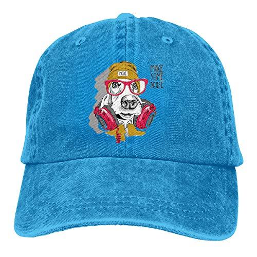 Dog Red Brille 2019 Caps Baseball Cap Sport Hut ()