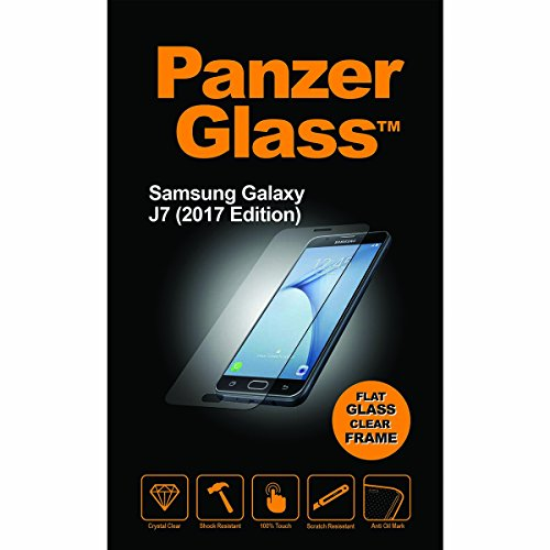 Image of PanzerGlass Samsung Galaxy J7 2017, Clear Displayschutz