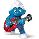 Schleich - Figura pitufo guitarrista (20449)