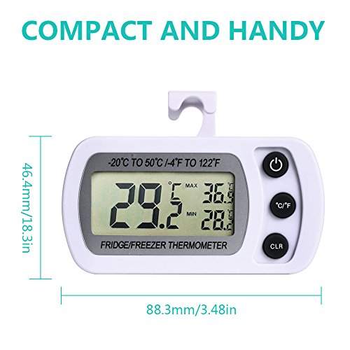 NexGadget digitales Gefrierschrank- Thermometer - 2