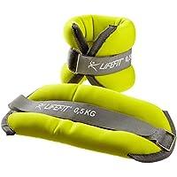 SULOV Manguitos lastrados Hands-Feet, Verde Claro, 2 x 0,5 kg, F-ZAT-NA01-01
