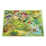 Leisure Spielteppich Farm - Rutschfest 100 x 150 cm