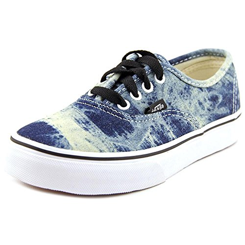 Vans  K Authentic,  Unisex Kinder Hohe Sneakers (acid denim) black/true w