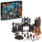 LEGO - L'Invasion de la Batcave par Gueule d'argile DC Comics Super Heroes Batman Jeux de Construction, 76122, Multicolore