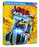The Lego Movie [Blu-ray 3D + Blu-ray + UV Copy] [2014] [Region Free]