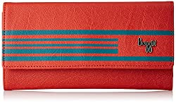 Baggit AW-17 Womens Wallet (Tomato)