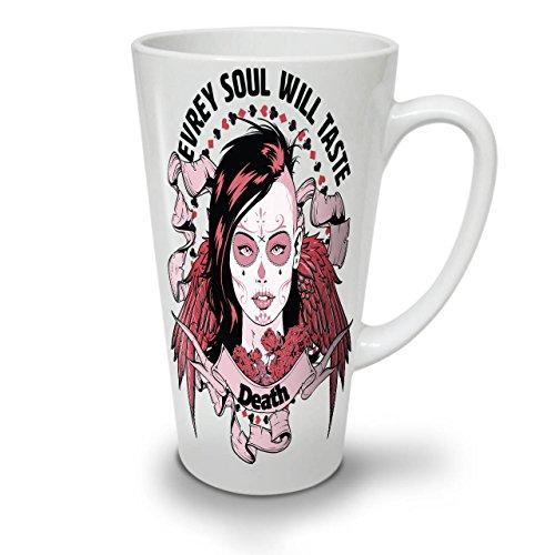 Seele Geschmack Tod Horror WeißTee KaffeKeramik Kaffeebecher 17 | Wellcoda