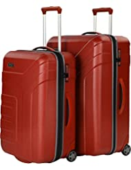 Travelite Vector Maleta 2 ruedas set de 2 pzs