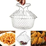 Onmall Kitchen Chef Basket Cooker Strainer 12 In 1 Kitchen Tool Cooks Net