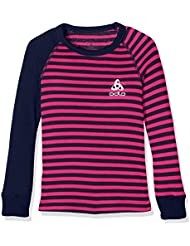 Odlo Kinder Shirt L/S Crew Neck Warm Kids Unterhemden Lg.Arm Ki