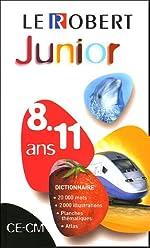 Le Robert Junior - CE-CM, 8-11 ans avec un cahier d'étymologie de Sophie Chantreau-Razumiev