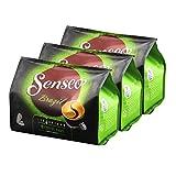 Senseo Kaffeepads Brazil, Brasilien, Kaffee, Arabica, neues Design, 3er Pack, 3 x 16 Pads