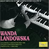 Partita N° 1 Bwv 825 - Concerto Italien Bwv971 - Variations Goldberg Bwv 988 [Import anglais]
