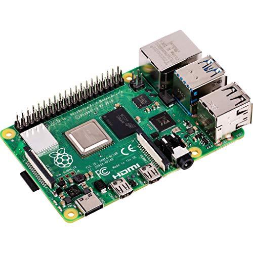 Raspberry Pi 4 Modell B Basisplatine, 2GB, ARM-Cortex-A72, 4x1,50GHz, WLAN-ac, Bluetooth 5.0, LAN, 4xUSB, 2xMicro-HDMI
