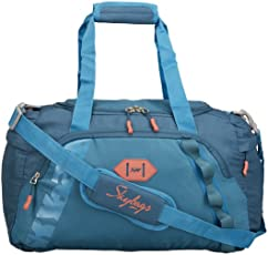 Skybags Unisex Polyester Cabin Soft Teal Duffel Bag (45cm)