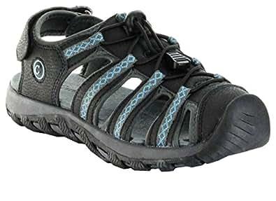 ConWay Sandaletten Outdoor blau Damen Herren Trekking Schuhe Split