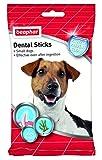 Beaphar - Snack para Perros Adultos pequeños, medianos y Grandes Dental Sticks