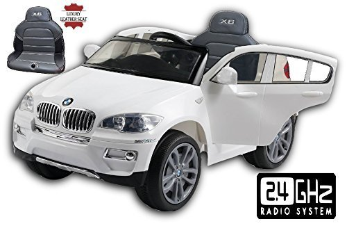 bmw-x6-white-original-licenced-battery-powered-electric-ride-on-kids-car-with-stitched-leather-seat-