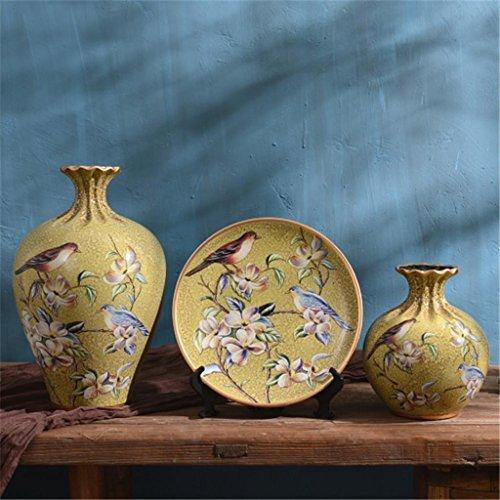 estilo-americano-jarron-de-ceramica-tres-conjuntos-vino-armario-muebles-decoracion-de-casa-tabla-de-