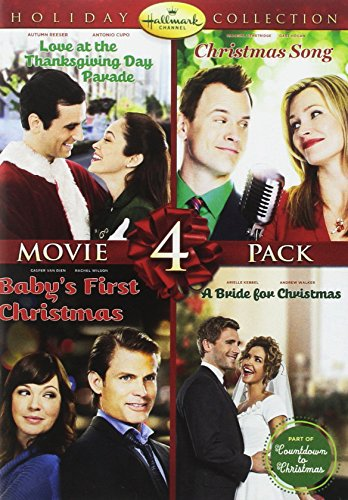 Hallmark Holiday Collection 4 (Christmas Song/Baby's First Christmas/Bride for Christmas/Thanksgiving Day Parade)