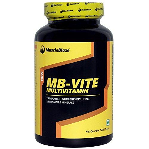 Muscleblaze Mb-Vite Multivitamin - 120 Tablets