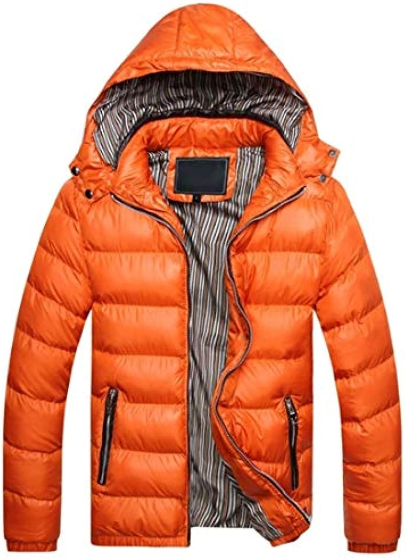 Aiweijia Giacca Invernale in Cotone Uomo da Uomo Cotone Ultra Leggero Nuovo  Stile Antivento Caldo Cotone Abbigliamento con... 538f21 24fb71c5b62