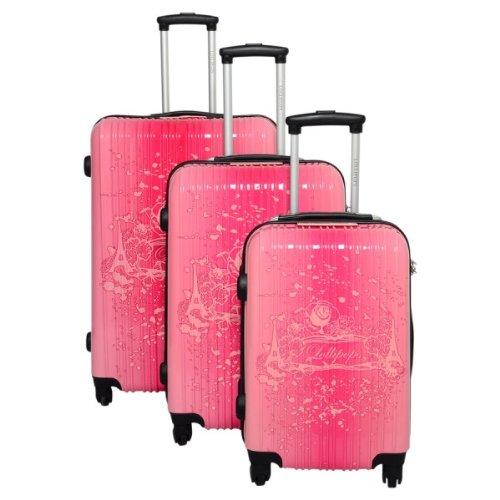 Lollipops, Set de bagages Rose rose