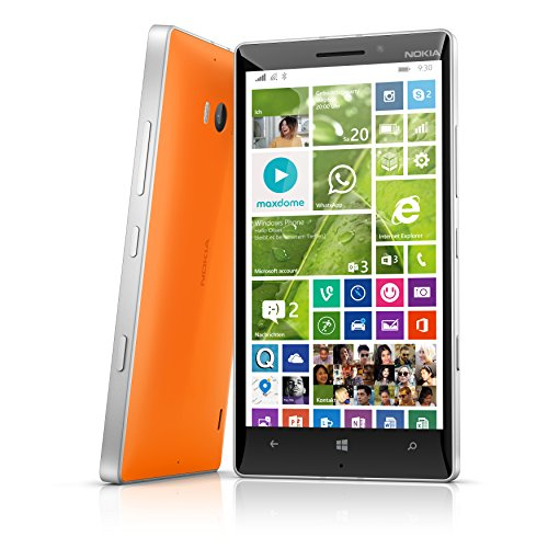Nokia Lumia 930 - Smartphone libre Windows Phone  pantalla 5 Pulgadas  c  mara 20 Mp  32 GB  Quad-Core 2 2 GHz  2 GB RAM  Conectividad 4G   naranja  I