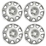'verificación de tamaño de la rueda Llantas Set (4) 15' Citroen C4Picasso 2007, fundas + Tapón para válvula & Corbatas