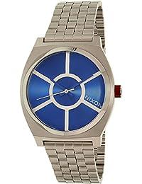 Nixon Herren-Armbanduhr Analog Quarz Edelstahl A045SW2403-00