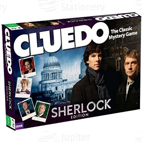 Winning Moves Sherlock Edition Cluedo