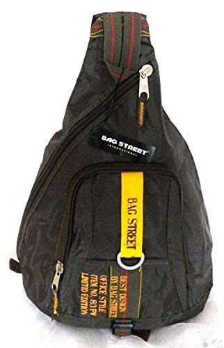 NB24 Bag Street Bodybag, khaki, Rucksack (2352), ca. 50 x 34 x 15 cm, Tragegurt, Tasche, Freizeittasche, Sporttasche