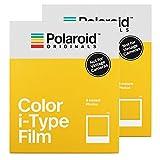 Polaroid Originals, pellicola a colori per fotocamere i-Type, confezione doppia
