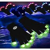 Guantes luminosos con luz Led ENTREGA 1-3 DÍAS