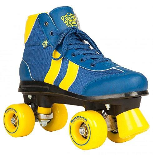 Rookie Retro V2 - Quad - Azul/amarillo - Talla 34,5