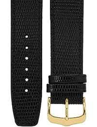 Cerberus EAB102-2-18A - Cinturino per orologio, unisex, colore: nero