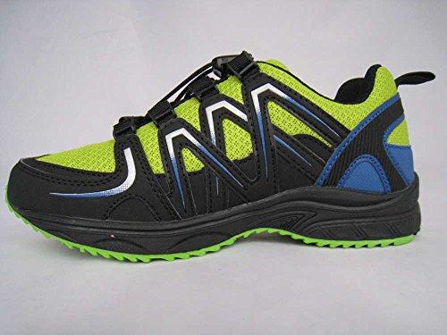Supremo  1643001/02415, Chaussures de randonnée basses pour femme 02415Black-Lime-Royal