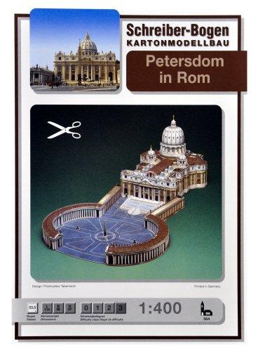 Petersdom in Rom - Vatikan-modell