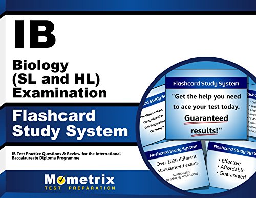 Ib Biology (SL and Hl) Examination Flashcard Study System: Ib Test Practice Questions and Review for the International Baccalaureate Diploma Programme