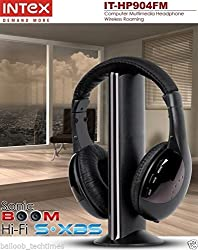 Intex IT-HP904FM Over-Ear Headphones (Black)