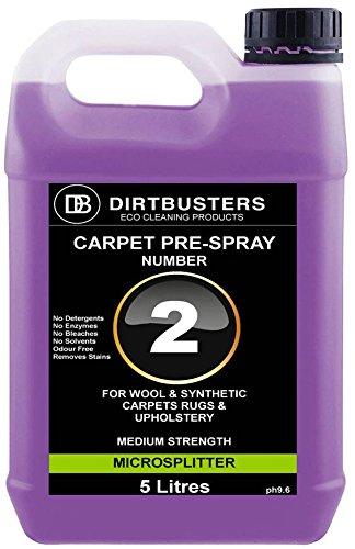 Dirtbusters professionale pre spray numero 2soluzione detergente