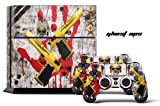 PS4 Console + Controller Skin - Ghost Sp...