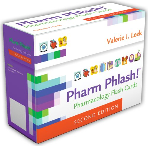 Pharm Phlash 2e Pharmacology Flash Cards (Pharmakologie-flash-karten)